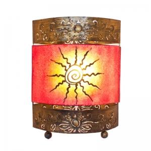 Dekor - Leuchte, Tischlampe Sonne