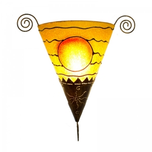 Dekor - Leuchte, Wandlampe Sonne