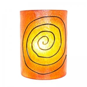 Dekor - Leuchte, Wandlampe Spirale