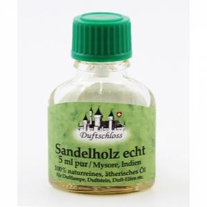 Sandelholz echt, Mysore/Südindien, 100% naturrein, 5 ml