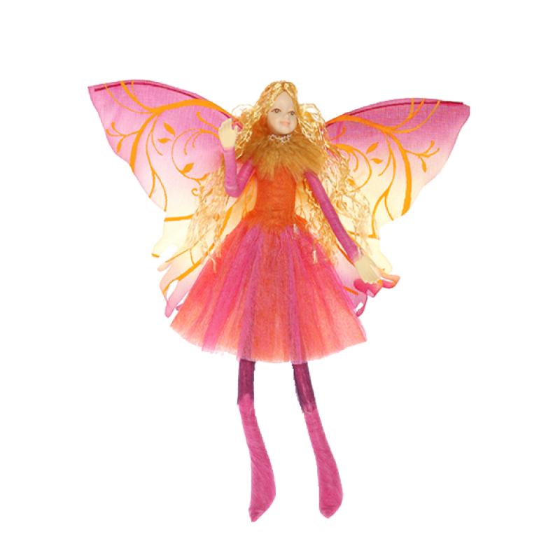 01. Schmetterlings-Elfe mit magnetischen Füssen