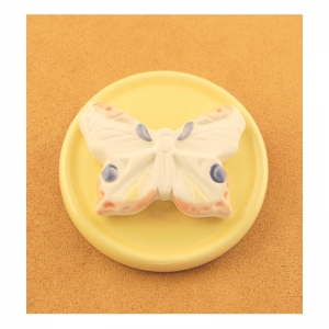 DS10.02 Duftstein Schmetterling auf Unterteller