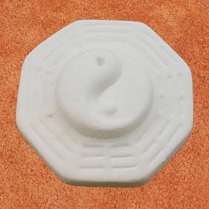 DS05.10 Duftstein Yin und Yang eckig