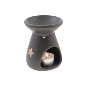 7.315.2 Duftlampe, Reiselampe Spirale/Stern schwarz