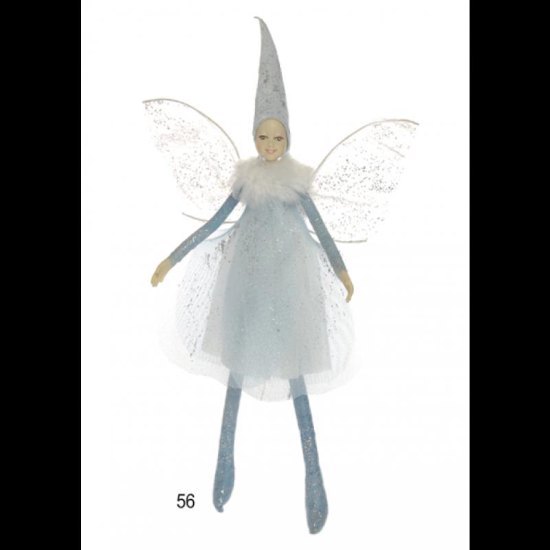 56. Winter-Elfe mit Magnet