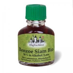 Benzoe Öl Siam Bio 11 ml, Thailand, 50 % in Alkohol