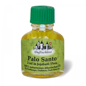 Palo Santo Öl (heiliges Holz) 2 ml in 9 ml Jojobaöl, Peru, 11 ml