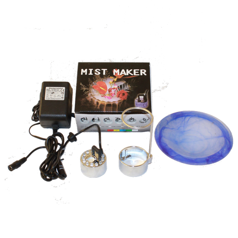 8.821S Vernebler Mist Maker mit LED inkl. Spritzschutz