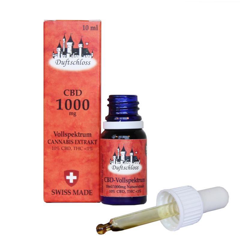 10% CBD Hanfblüten-Extrakt Yummy, 10 ml Öl, Cannabis Vollspektrum