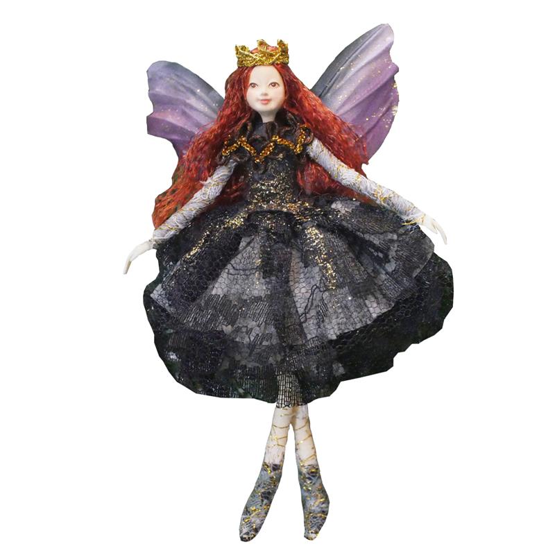 37. Prinzessinen-Elfe mit magnetischen Füssen