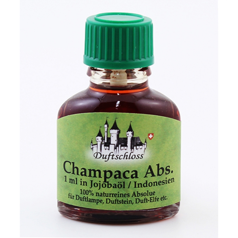 Champaca Öl Absolue 1 ml in 10 ml Jojobaöl, Indonesien, 100% naturrein, 11 ml