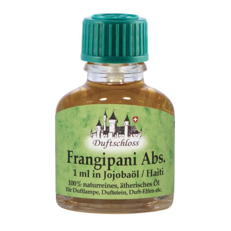 Frangipani Öl Absolue 1 ml in 10 ml Jojobaöl, Haiti, 100% naturrein, 11 ml