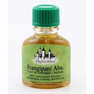 Frangipani Absolue, Indien, 1ml in 10m..
