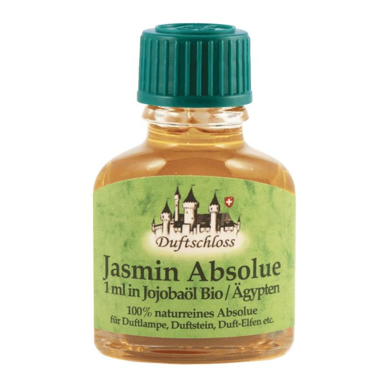 Jasmin Öl Absolue 1 ml in 10 ml Jojobaöl, Ägypten, 100% naturrein, 11 ml