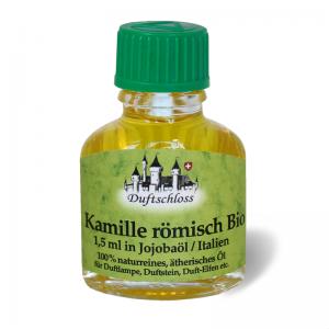 Kamille Bio Öl römisch 1.5 ml in 9.5 ml Jojobaöl, Italien, 11 ml