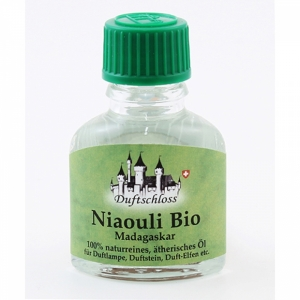Niauli Bio (CT: Cineol), herb, Madagaskar, 100% naturrein, 11ml