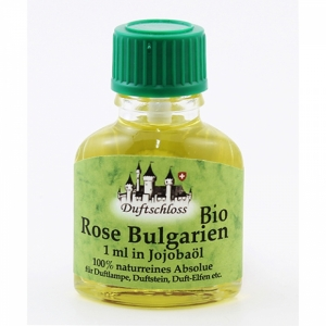 Rose Bio, Bulgarien, 1ml in 10ml Jojobaöl, 11ml