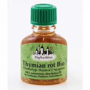 Thymian rot Bio (CT:Thymol) kräftig, Spanien, 100% naturrein, 11ml
