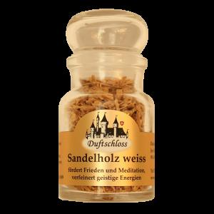 Sandelholz (weiss) Späne - Räucherwerk, 60 ml