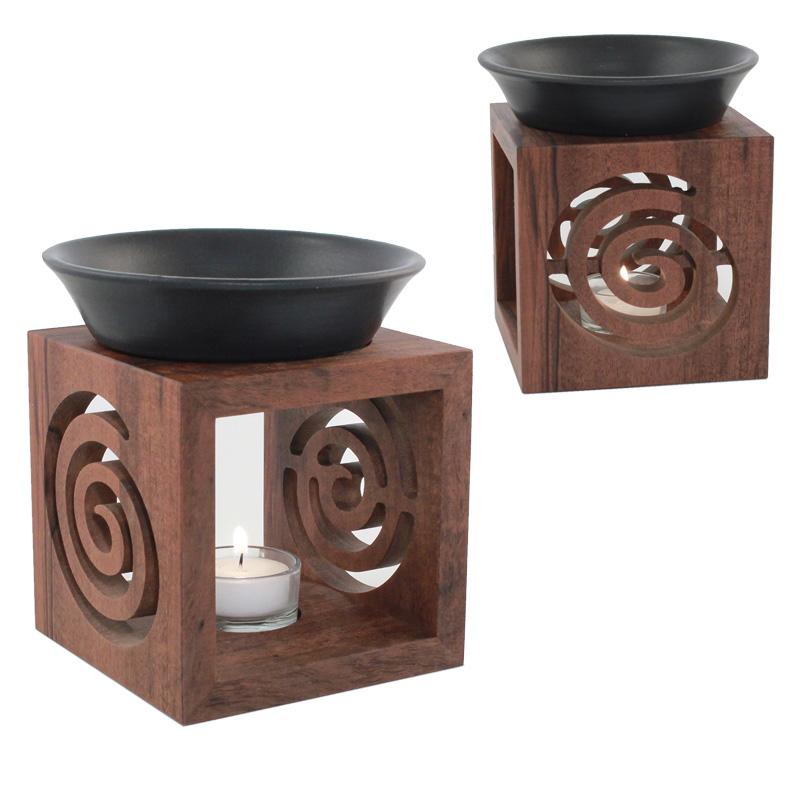 N3, Nussbaum Duftlampe, Spirale,