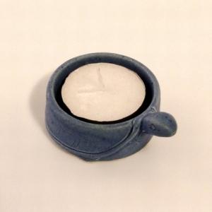 Teelichthalter blau, 13.402
