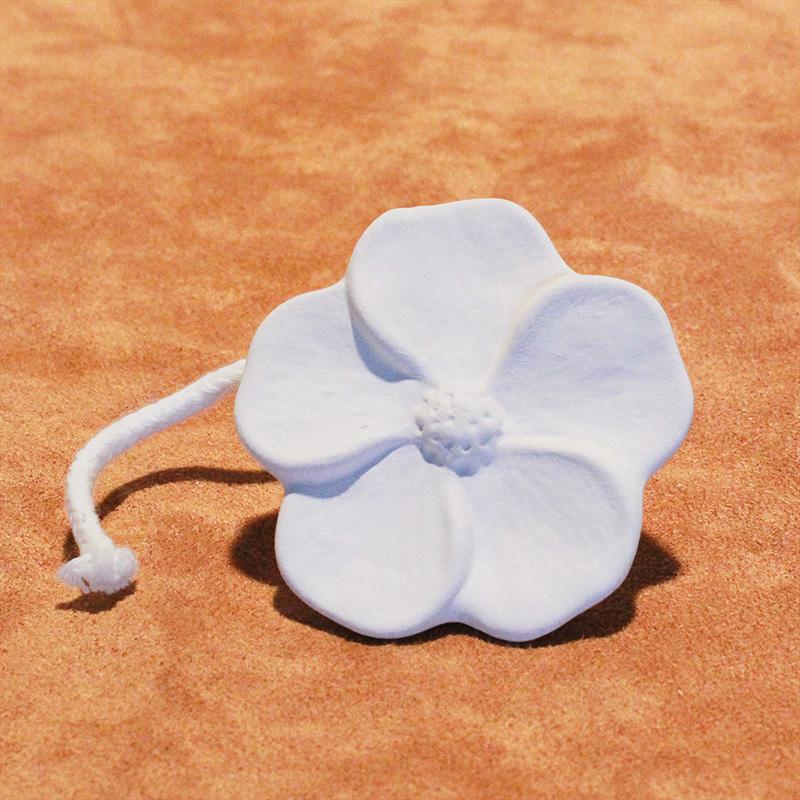 DS7.56 Duftstein mit Docht - Blume klein