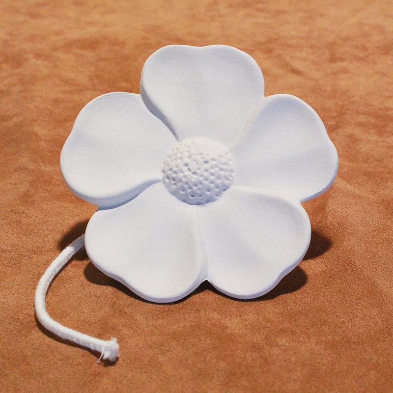 DS7.57 Duftstein mit Docht Blume