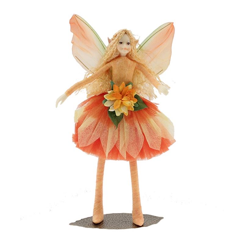 Nr. 117 / Magnet: Blumen-Elfe