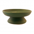 Räucherschale, aus Ton Räucherschale, aus Ton, grün mit Spirale, RZ01