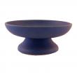 Räucherschale, aus Ton Räucherschale, aus Ton, blau mit Spirale, RZ03