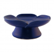 Räucherschale, aus Ton Räucherschale, aus Ton, blaue Blüte, RZ06