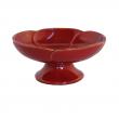 Räucherschale, aus Ton Räucherschale, aus Ton, rote Blume, RZ09